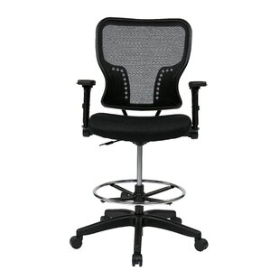 Pascarella Mesh Drafting Chair by Symple Stuff Great Reviews