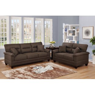 Roselle 2 Piece Living Room Set by Latitude Run
