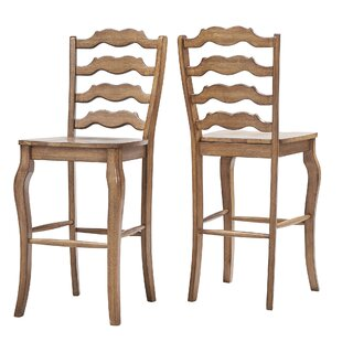 Seamus 29 Bar Stool (Set of 2) August Grove