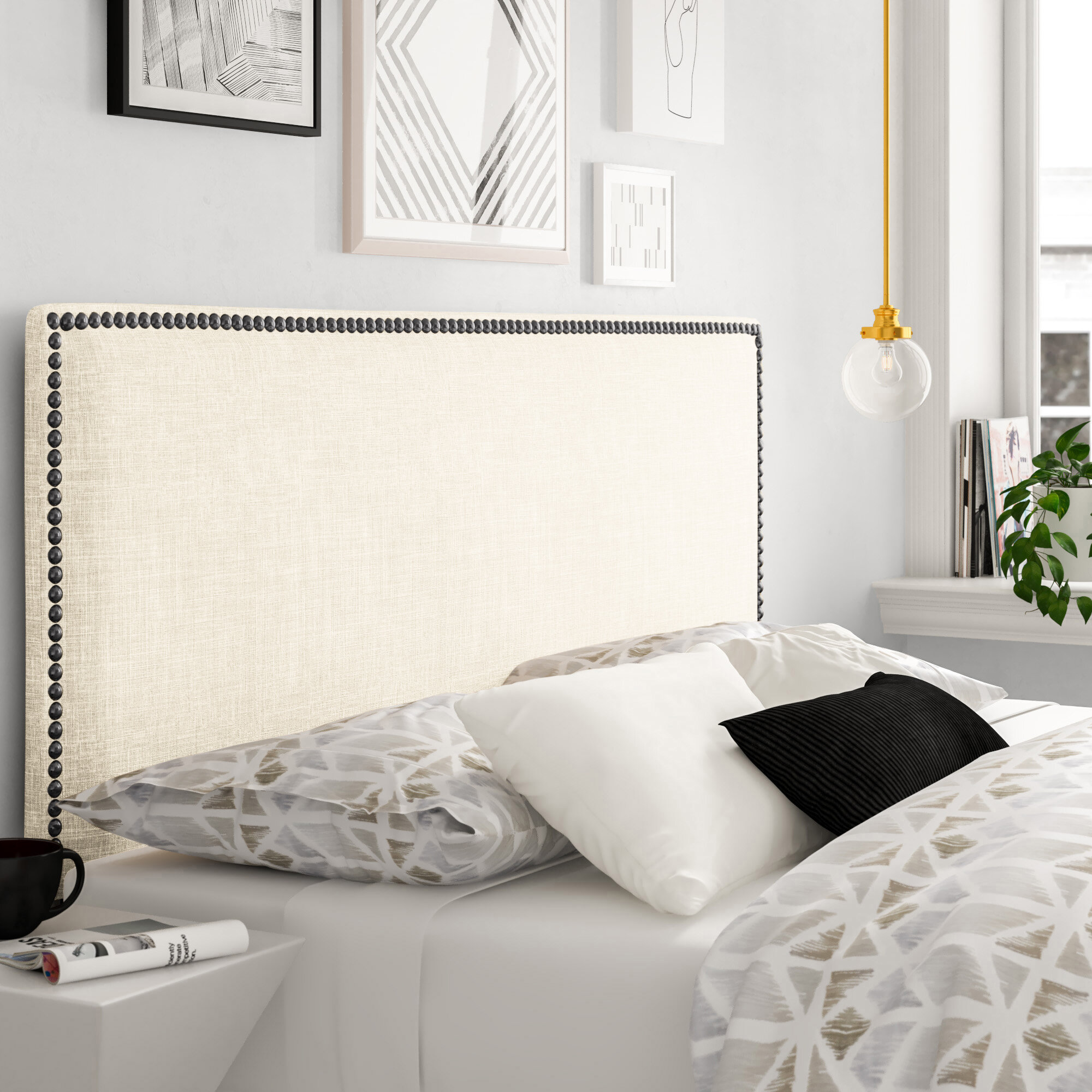 Compatible With Adjustable Bed Headboards Free Shipping Over 35 Wayfair