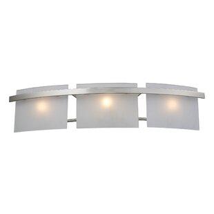 Great Price Comp 3-Light Bath Bar By Ebern Designs