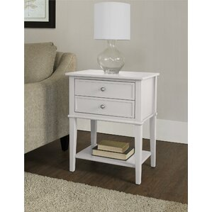 White Side Tables white end & side tables you'll love | wayfair