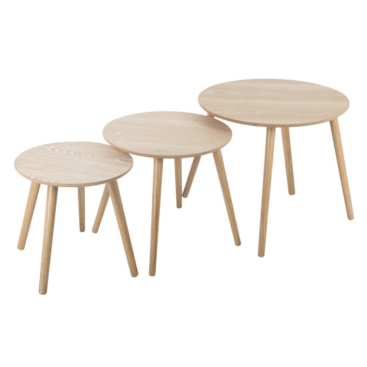 Norden Home Ingram 3 Piece Nest Of Tables Wayfair Co Uk