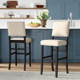 Calila 30.25 Bar Stool (Set of 2) Birch Lane™ Heritage
