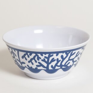 Yacht and Home 20 oz. Melamine Soup/Cereal Bowl (Set of 4)