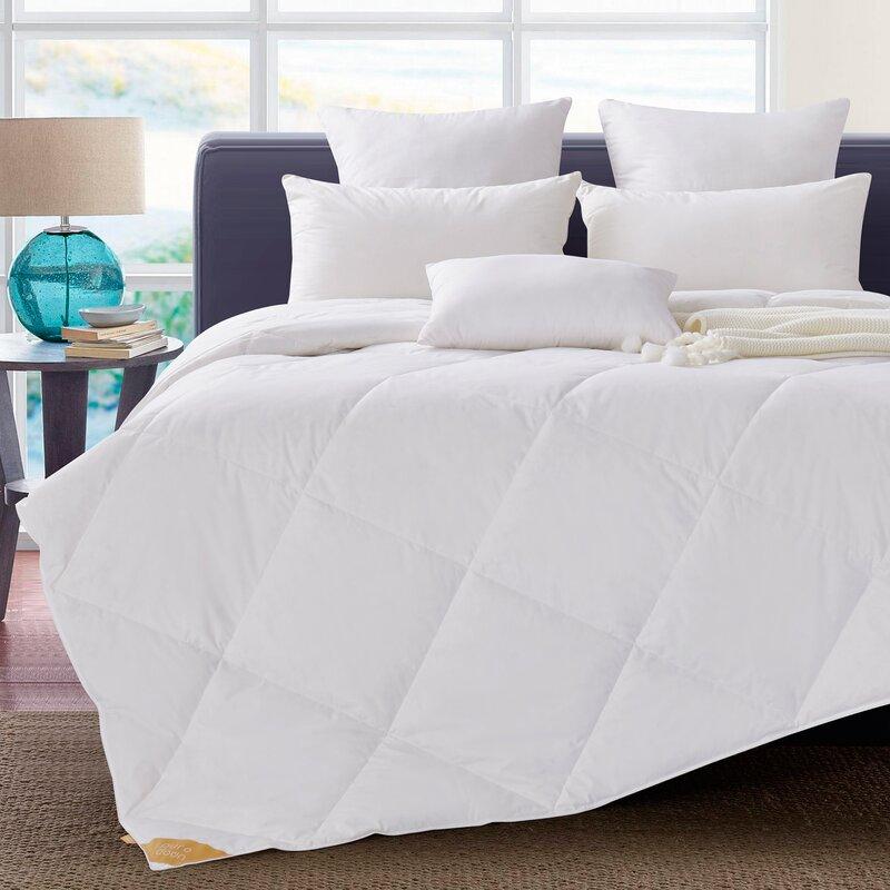 Puredown Lightweight Summer Down Comforter Amp Reviews Wayfair