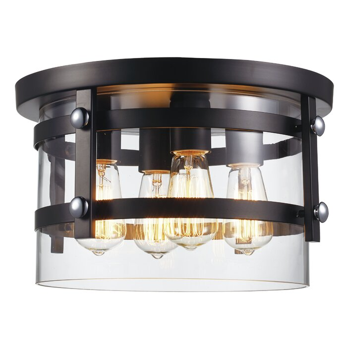 Daniel 4 Light Flush Mount