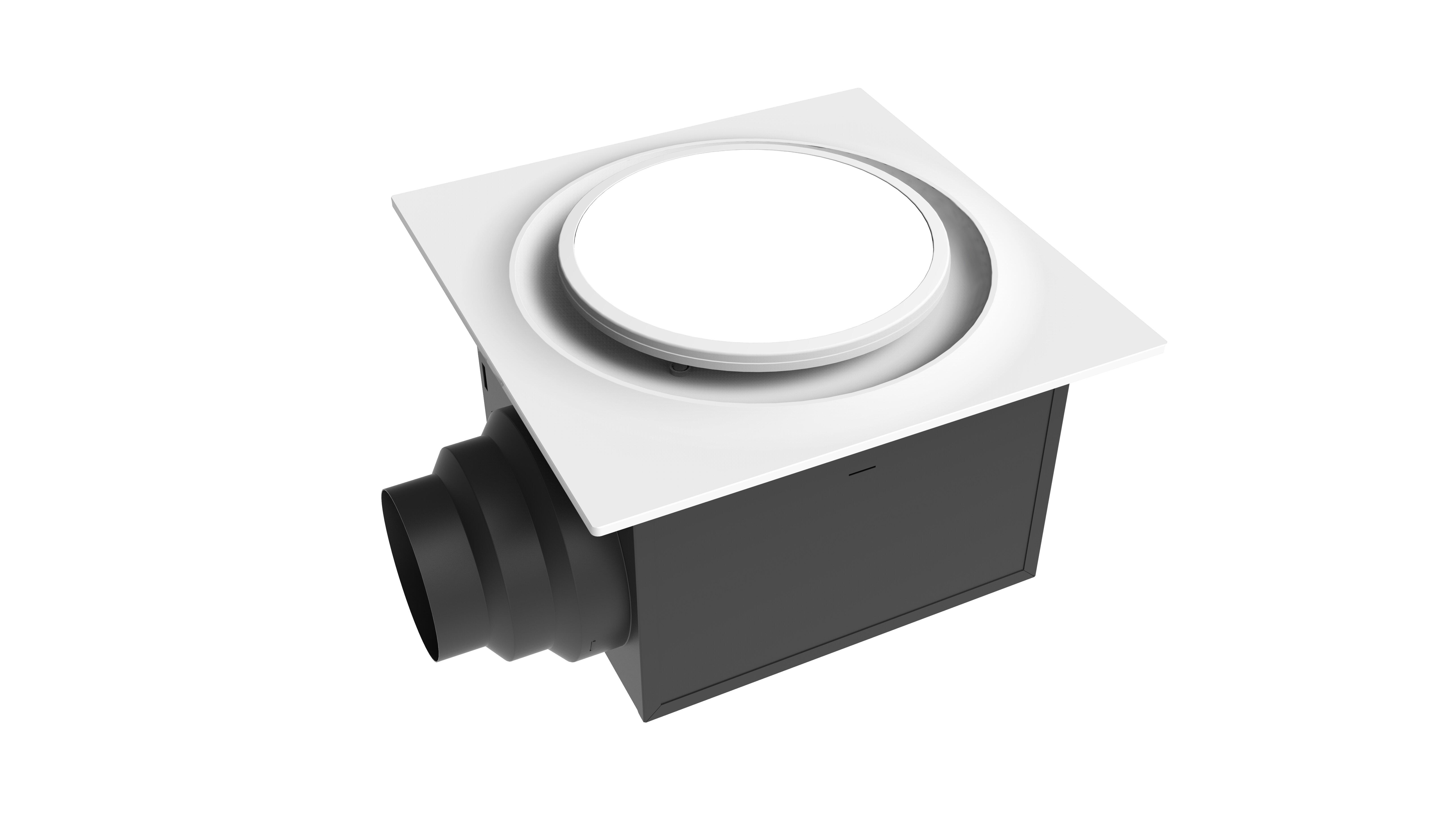 Aero Pure Ceiling Mount 80 Cfm Energy Star Bathroom Fan With Light