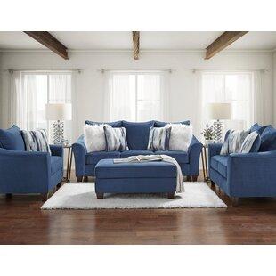 Hurtsboro 3 Piece Standard Living Room Set by Red Barrel Studio