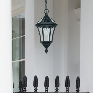 Outdoor hanging lights youll love buy online wayfair hafer 1 light outdoor hanging lantern mozeypictures Gallery