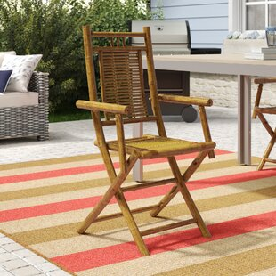 Josephine Folding Patio Dining Chair by Beachcrest Home New Design