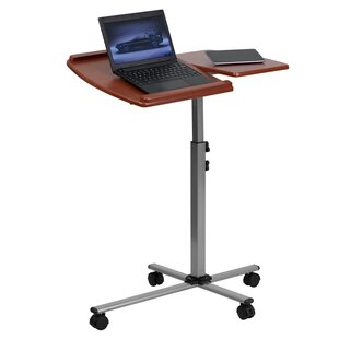 Adjustable Laptop Cart by Flash Furniture