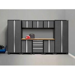 Bold 3.0 9 Piece Storage Cabinet Set by NewAge Products
