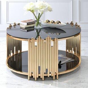 Borton Coffee Table by Everly Quinn Modern