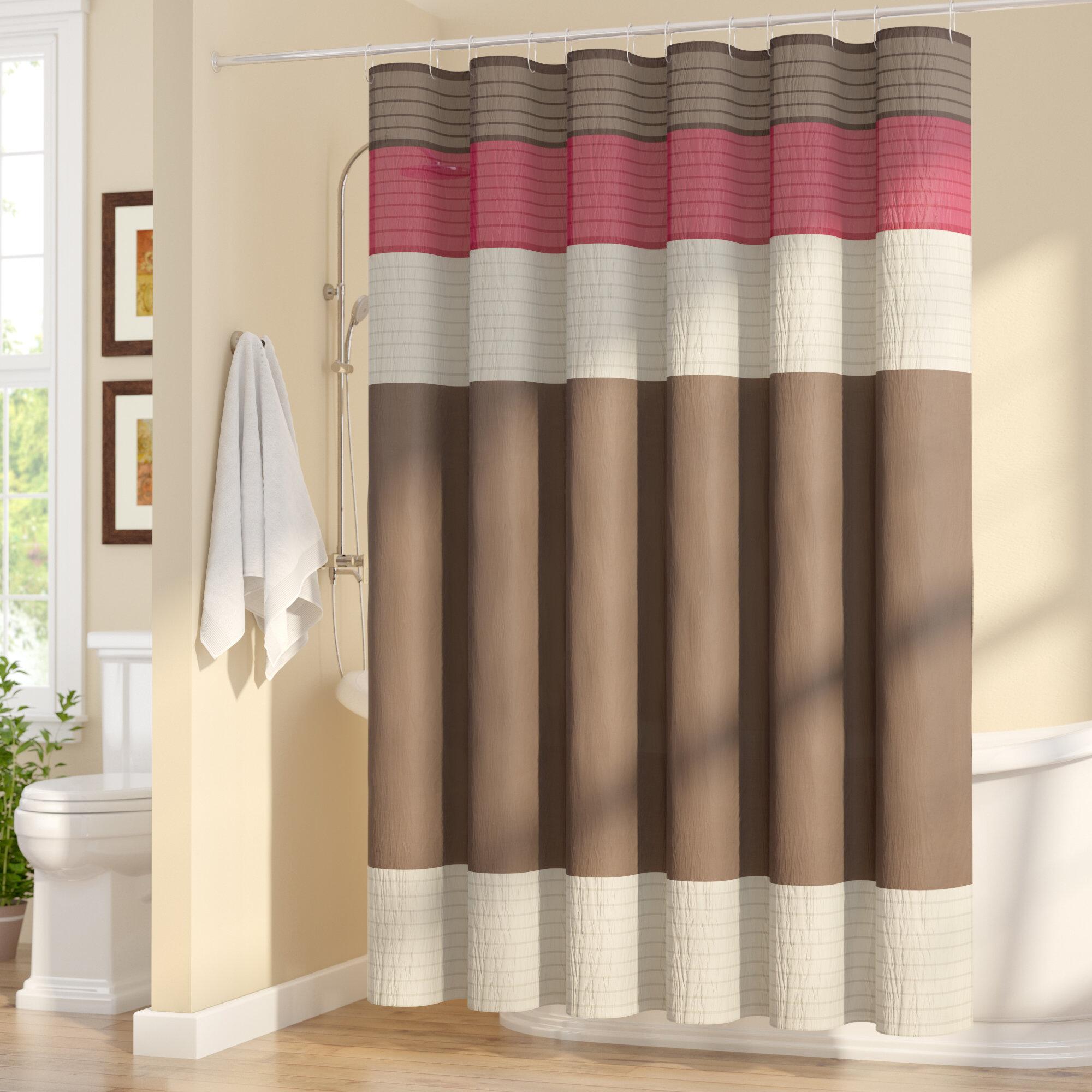 Three Posts Berardi Shower Curtain & Reviews | Wayfair