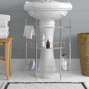 Hodgkinson 215 W x 266 H Bathroom Shelf by Rebrilliant