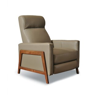 Corby Leather Manual Recliner Corrigan Studio