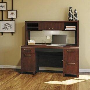Enterprise Double Pedestal 3 Piece Desk Office Suite by Bush Business Furniture
