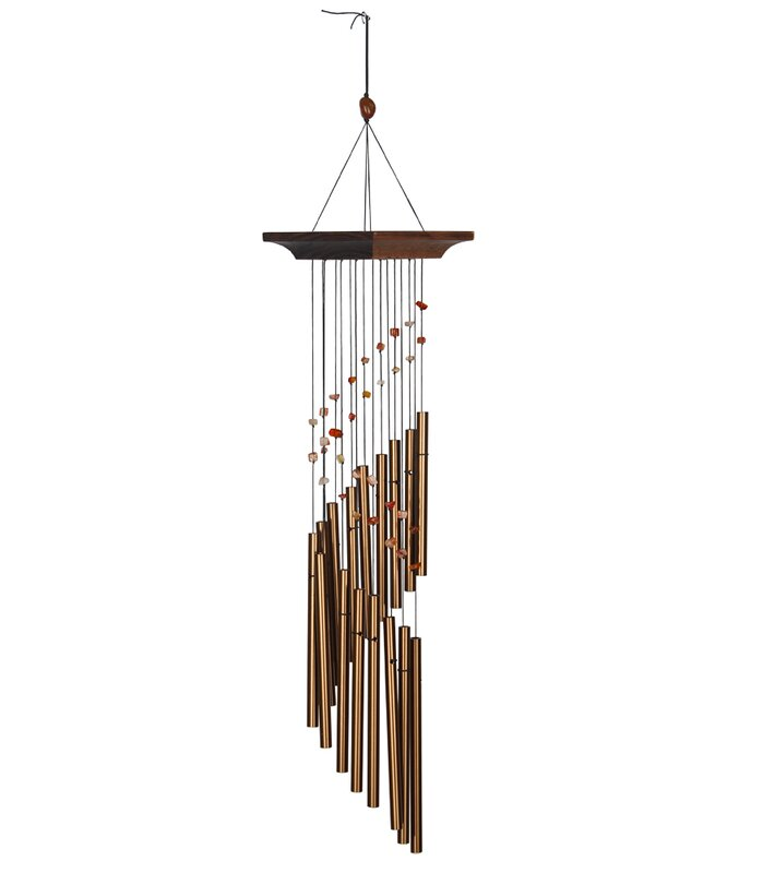 WOODSTOCK CHIMES OF EARTH BRONZE DECORATIVE WIND CHIME