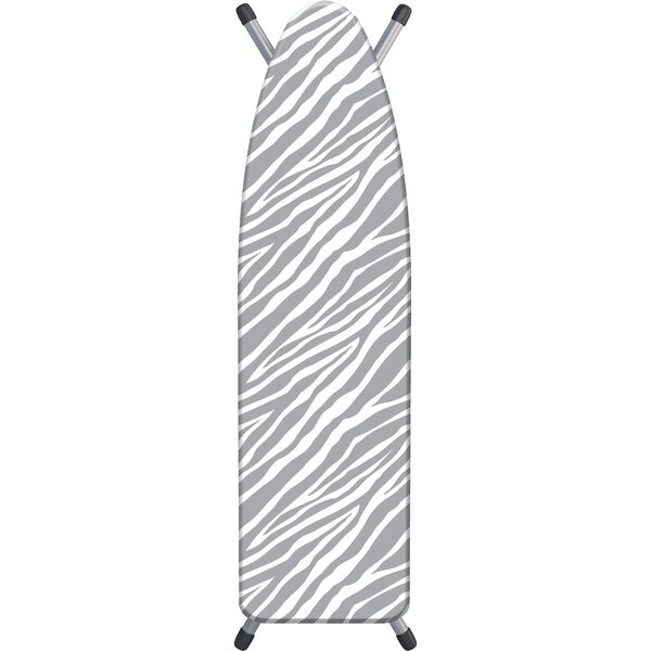 Laundry Solutions by Westex Peony Stripe Deluxe Triple Layer Extra-Thick Ironing Board Cover and Pad 15 x 54