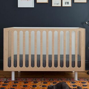 Look for Fawn 2-in-1 Convertible Crib with Mattress ByOeuf