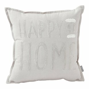 Happy at Home Throw Pillow