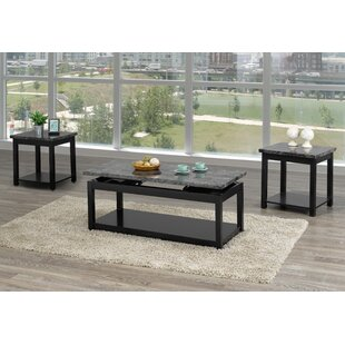 Rohrbaugh 3 Piece Coffee Table Set by Canora Grey Best Choices