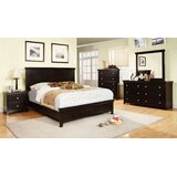 Maser Sleigh 4 Piece Bedroom Set by Charlton Home