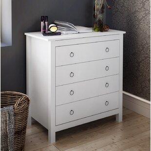 Harmen 4 Drawer Standard Dresser by Highland Dunes