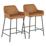 Embrey 24.5 Counter Stool (Set of 2) by Foundstone™