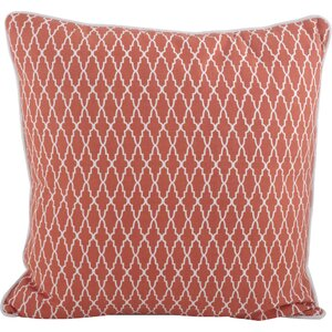 Las Palmas Ikat Cotton Throw Pillow