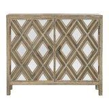 Lapidge Mirrored 2 Door Accent Cabinet by Brayden Studio®