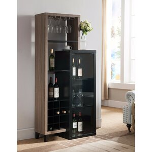 Duckworth Uniquely 12 Bottle Floor Wine Rack by Latitude Run