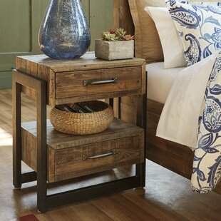 Burkhead 2 Drawer Nightstand by Union Rustic Great Reviews