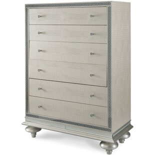 Hollywood Swank 4 Drawer Chest by Michael Amini