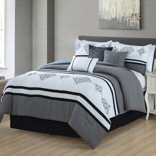 Rosso 7 Piece Comforter Set