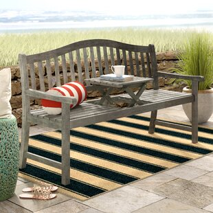 Volusia Wooden Garden Bench