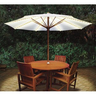 Brella Lights Patio Umbrella Lighting System With Power Pod with 6 Rib