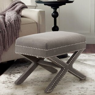 Leigh Woods Accent Stool by Charlton Home