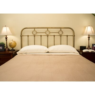 Barrington Slat Headboard Benicia Foundry and Iron Works Size: King