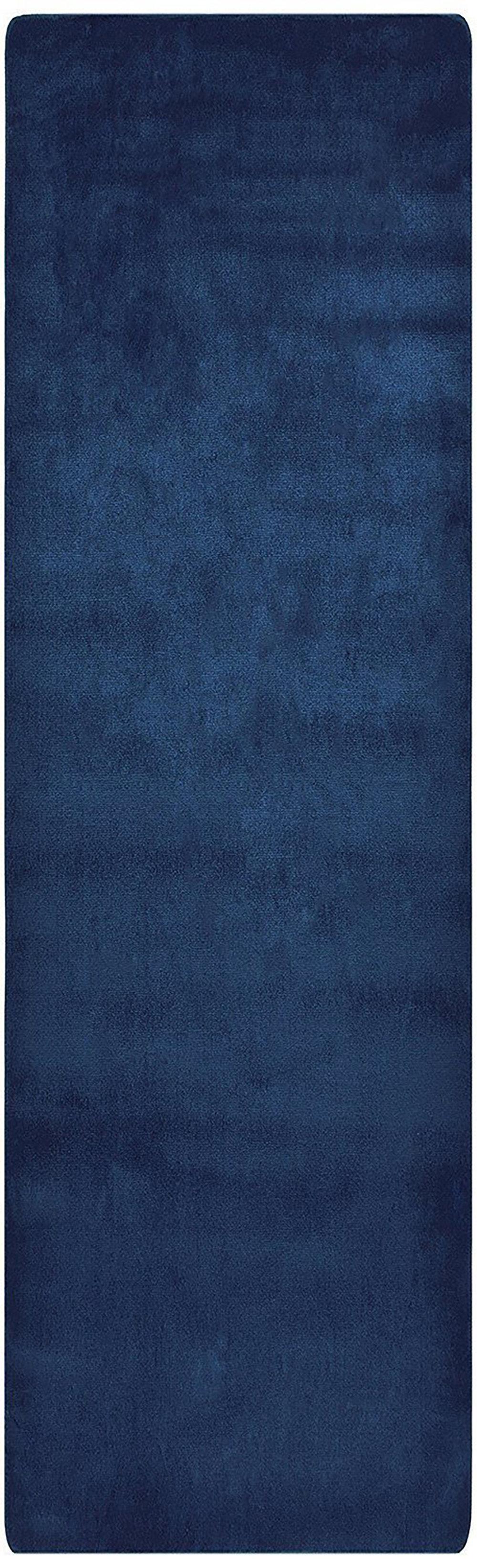 Pinkert Tufted Navy Blue Area Rug