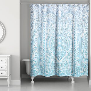 Howerton Sketched Tapestry Shower Curtain