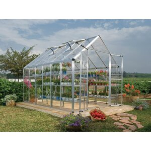 Snap & Grow 8 Ft. W x 12 Ft. D Greenhouse