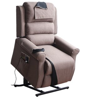 Groovy Haddox Power Push Button Lift Assist Recliner Creativecarmelina Interior Chair Design Creativecarmelinacom