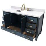 Joseline 61 Single Bathroom Vanity Set by Mercer41
