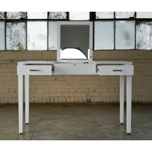 Haven Home Vanity Desk with MirrorMakeup Tables and Vanities You ll Love   Wayfair. Vanity And Desk Combo. Home Design Ideas