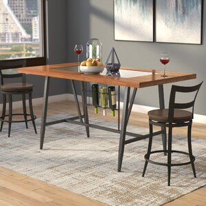 Baeza Wood Top Counter Height Dining T..