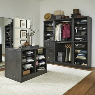 Romsey 25 W 4 Piece Closet Storage Units