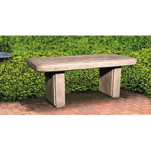 Traditional Stone Garden Bench