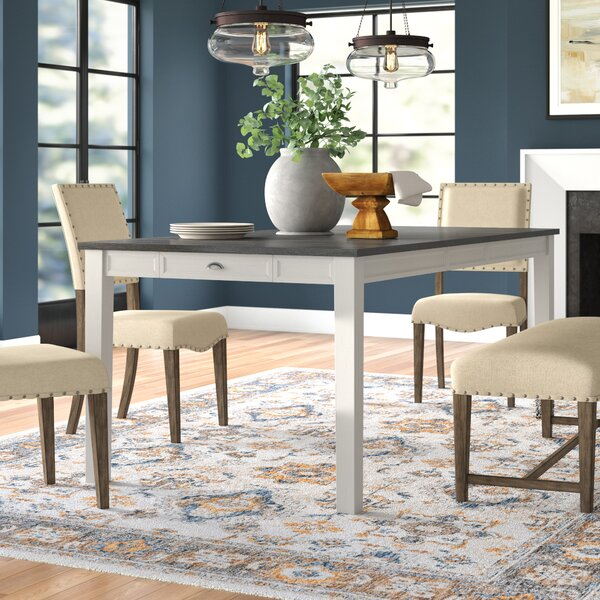 August Grove Reichard Extendable Dining Table Reviews Wayfair Ca